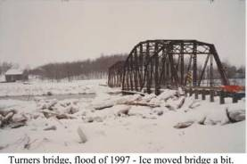 Turners Bridge, flood of 1997