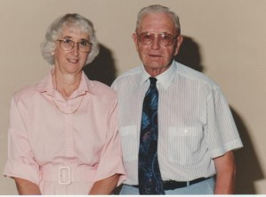 Audrey and Bazil in retirement