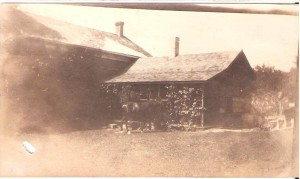New back kitchen about 1920