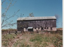 The original 90 ft. barn, south side
