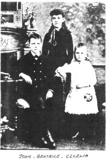 The Scott children (circa 1890)