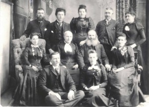 John Wallace Family before 1894